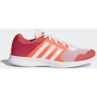 Schuhe Damen Sneaker Low adidas Performance Essential Fun 2.0 Schuh Weiß / Orange