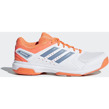 Schuhe Damen Sneaker Low adidas Performance Essence Schuh Weiß / Orange