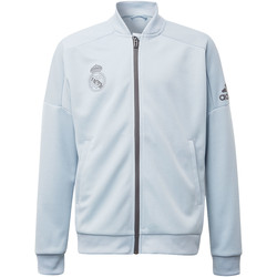 Kleidung Jungen Trainingsjacken adidas Performance Real Madrid Trainingsjacke Grau