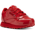 Schuhe Kinder Sneaker Low Reebok Classic Classic Leather Patent Red