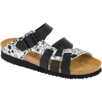 Schuhe Damen Zehensandalen Lico Bioline Noble schwarz