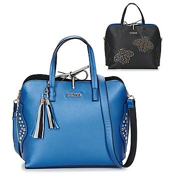 Taschen Damen Handtasche Desigual BOLS_HAMAR TRICOLOR Blau / Schwarz