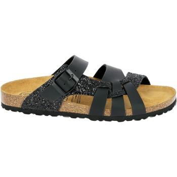 Schuhe Damen Sandalen / Sandaletten Lico Bioline gleam schwarz