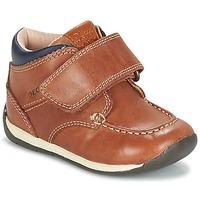 Schuhe Jungen Sneaker Low Geox B EACH BOY Braun