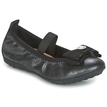 Schuhe Mädchen Ballerinas Geox J PIUMA BALLERINES Schwarz