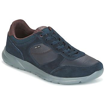 Schuhe Herren Sneaker Low Geox U DAMIAN Blau