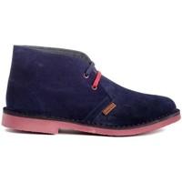 Schuhe Herren Boots Colour Feet MOGAMBO Blau