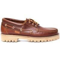 Schuhe Herren Bootsschuhe Colour Feet NAUTIC Braun