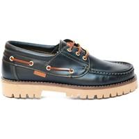 Schuhe Herren Bootsschuhe Colour Feet NAUTIC Blau