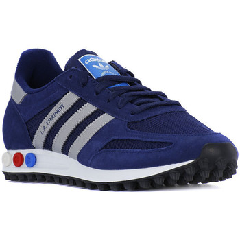 Schuhe Damen Sneaker Low adidas Originals LA TRAINER Blu