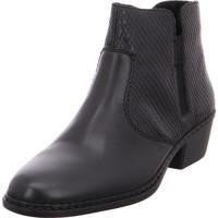 Schuhe Damen Low Boots Rieker - 75562-01 nero/schwa