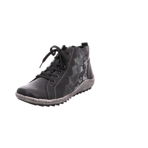 Remonte Dorndorf - R1474-02 schwarz/schwarz-silber/sc - Schuhe Boots Damen 63,95
