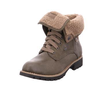 Schuhe Damen Boots Jana Da.-Stiefel OLIVE722