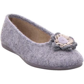 Schuhe Damen Hausschuhe Florett NV 61°dunkelgrau2