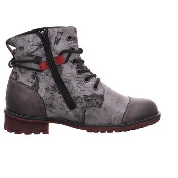 Schuhe Mädchen Boots Rieker - K3457-45 fumo/asphalt/wine/schwarz
