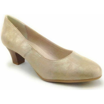 Schuhe Damen Pumps Softline Da.-Pumps 357PEPPER/LT GOLD