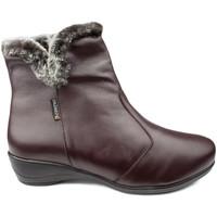Schuhe Damen Slipper Calzamedi STIEFEL  DIABETICS DOPPEL SCALE ZIPPER W BRAUN