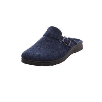 Schuhe Herren Pantoffel Fischer NV 555°blau2