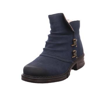 Schuhe Damen Low Boots Rieker - Z9963-15 pazifik/brandy