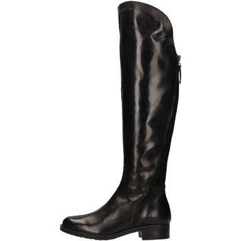 Schuhe Damen Klassische Stiefel Donna Più DONNAPIU' 09948 Stiefel Frau Schwarz Schwarz
