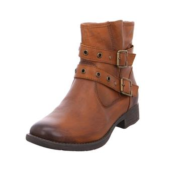Schuhe Damen Boots Softline Da.-Stiefel COGNAC305