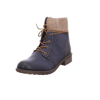 Schuhe Mädchen Klassische Stiefel Rieker - K3467-14 ozean/wood14