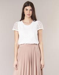 Kleidung Damen Tops / Blusen Betty London I-LOVI Weiss
