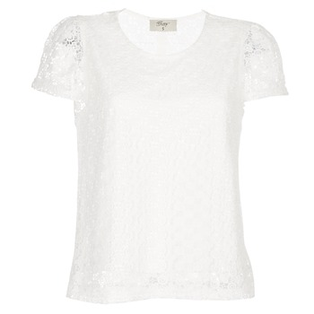 Kleidung Damen Tops / Blusen Betty London I-LOVI Weiss