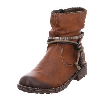Schuhe Mädchen Boots Rieker NV 24°chestnut1