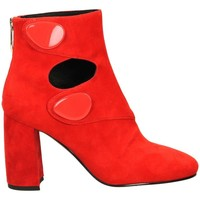 Schuhe Damen Low Boots What For SABIE Rot