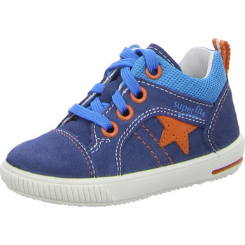 Schuhe Kinder Sneaker High Superfit Moppy blau kombi.