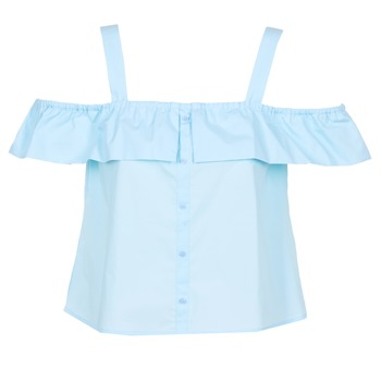 Kleidung Damen Tops / Blusen Moony Mood IFARANDOL Blau