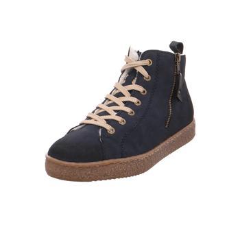Schuhe Damen Sneaker High Rieker - L4818-15 atlan/sch