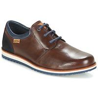 Schuhe Herren Derby-Schuhe Pikolinos BIARRITZ M5A Braun / Blau