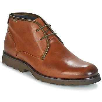 Schuhe Herren Boots Pikolinos GLASGOW M05 Braun