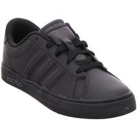 Schuhe Jungen Sneaker Low adidas Originals DAILY TEAM K CBLACK/CBLACK/UTIBLK000