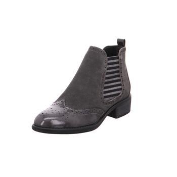 Schuhe Damen Low Boots Softline Da.-Stiefel GRAPHITE206