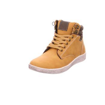 Schuhe Damen Sneaker High Hohensinner - 663802 gelb