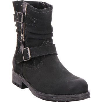 Schuhe Damen Low Boots Softline Da.-Stiefel BLACK 001