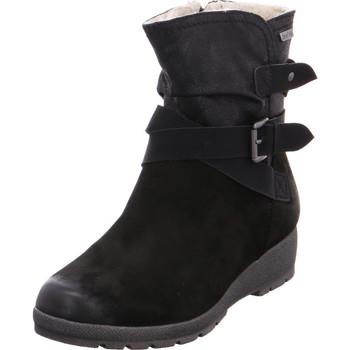 Schuhe Damen Low Boots Softline Da.-Stiefel BLACK 001