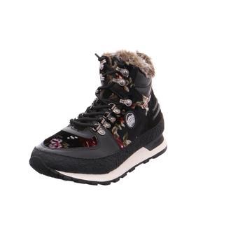 Schuhe Damen Sneaker High Bugatti - 421-28551-4069 schwarz