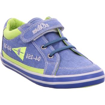 Schuhe Jungen Sneaker Low S.Oliver Ki.-Slipper 596ROYAL BLUE COM