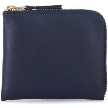 Taschen Portemonnaie Comme Des Garcons Comme Des Garçons Portemonnaie Wallet in Wallet in Leder Blau Blue