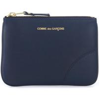Taschen Portemonnaie Comme Des Garcons Comme des Garçons Beutel Wallet in Leder Blau Blue
