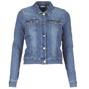 Kleidung Damen Jeansjacken Noisy May NMDEBRA Blau
