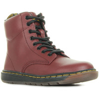 Schuhe Kinder Boots Dr Martens Malky L Rot