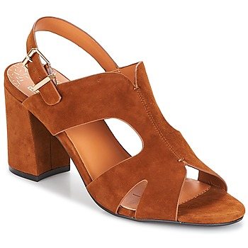 Schuhe Damen Pantoffel Bocage PAULI Braun