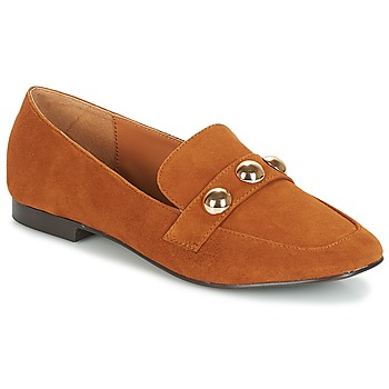 Schuhe Damen Slipper Bocage ABELONE Cognac