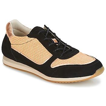 Schuhe Damen Sneaker Low Bocage LYMAN Schwarz