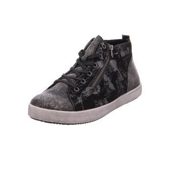 Schuhe Mädchen Sneaker High Rieker NV 02°altgold/schwarz/silver1